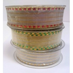 25mm Lurex Ribbon