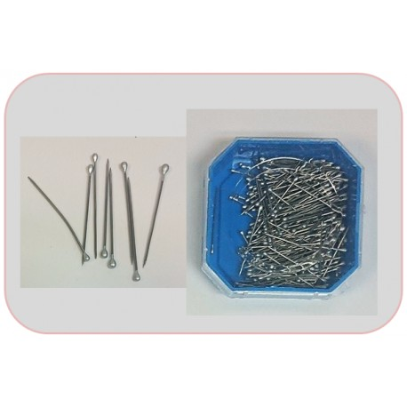 26mm Silver Head Pins