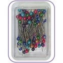 38mm Colour Headed Box Pins