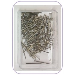 18mm (Short) Steel Clear Box Pins