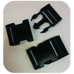 38mm Bag Clasps Black