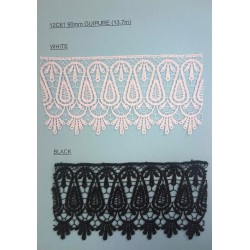 90mm Guipure Lace