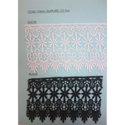 114mm Guipure Lace