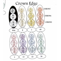 Crown Edge Button