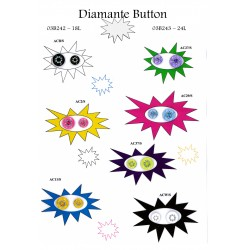 Diamante Button