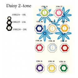 Daisy 2 Tone Buttons