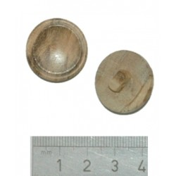 03A075 - 36L - Wood Shank Button