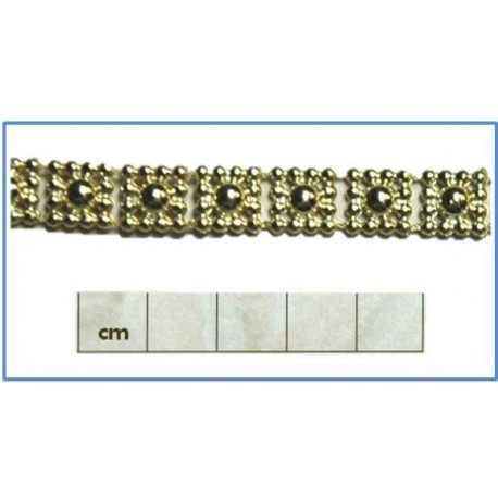 12mm Ball (square) Beaded Braid