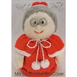 Mrs Santa Toilet Roll Cover