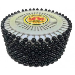 Black Colour Head Pin Wheel
