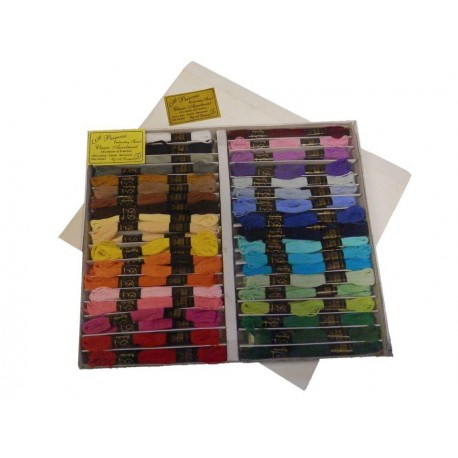 Lesur Embroidery silks Assorted 144
