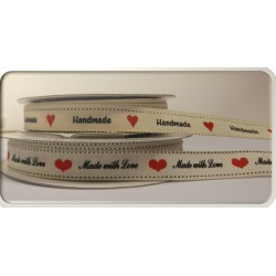 12mm Printed Ribbon