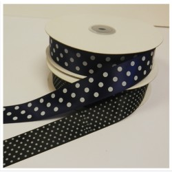 25mm Spotted Ribbon