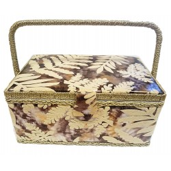 Velour type Sewing Box