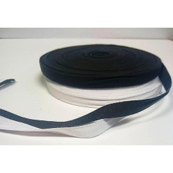 12mm Cotton Tape Black 50 mtr