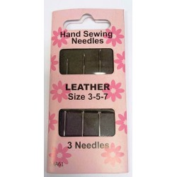 Leather 3-5-7 Sewing Needles