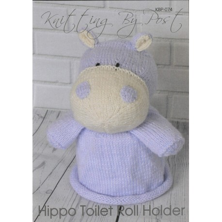 Hippo Toilet Roll Holder