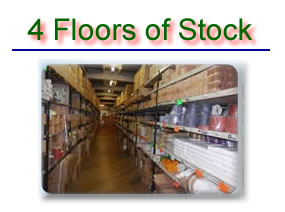 Four floor of Stock to browse
