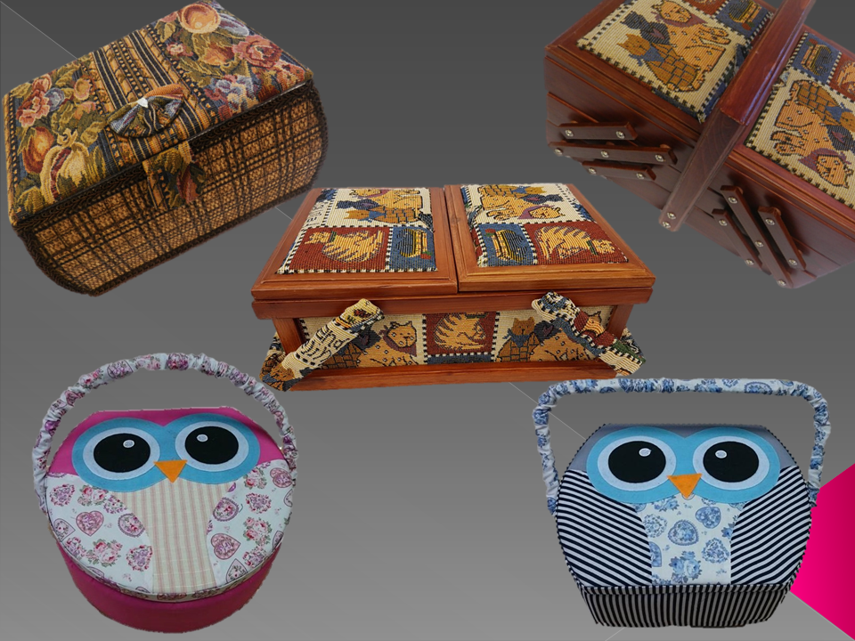 Sewing Boxes and Bags
